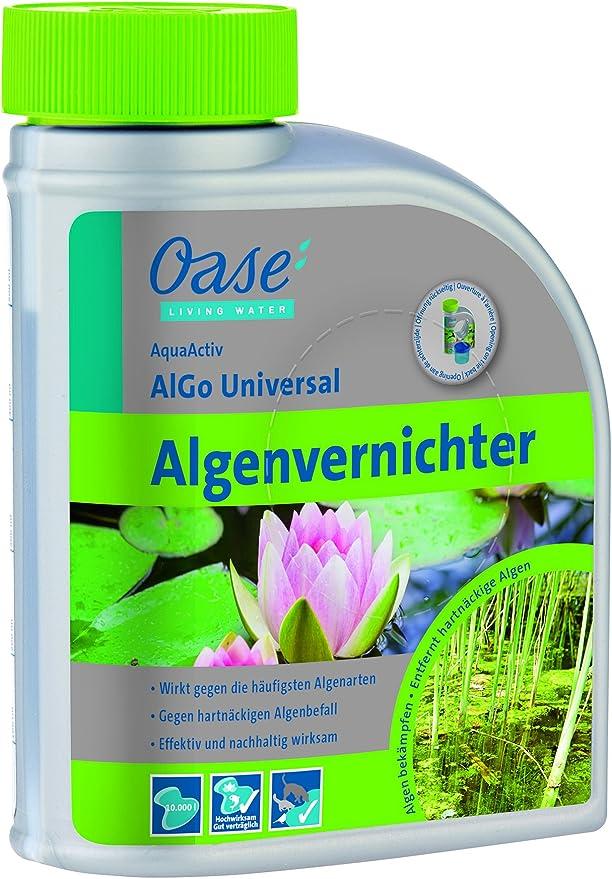 Oase de purificador de Agua Algo Algas Universal 500 ml, Plata ...