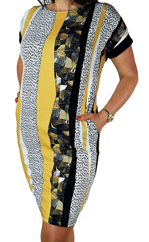 Berry® Bedrucktes Sommerkleid mit Kurzarm Gr. 40-54