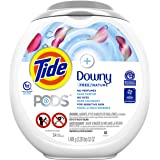 Tide Pods Pods +Downy Free, Liquid Laundry Detergent Pacs, 54 count