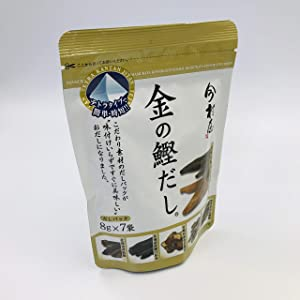 Japanese Dashi Soup - Gold Bonito Dashi Soup in Tetra Packs (8g x 7packs in 1bag)