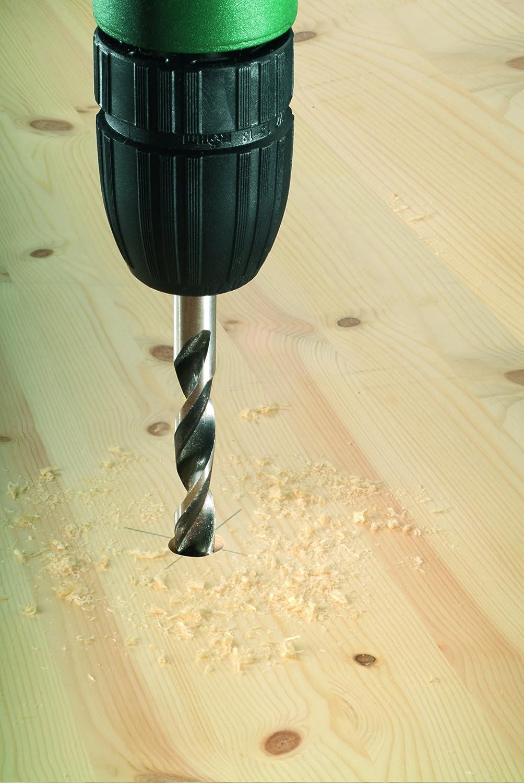 Juego de 8 brocas en espiral para madera Bosch 2 609 255 215