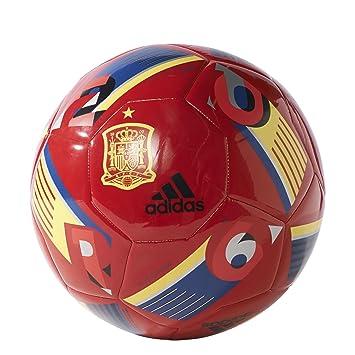 adidas EURO16 CAP FEF - Balón de fútbol, color escarlata / azul ...