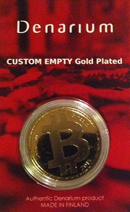 COLD STORAGE For Bitcoin UNFUNDED Physical DENARIUM BITCOIN Custom Value READY 4