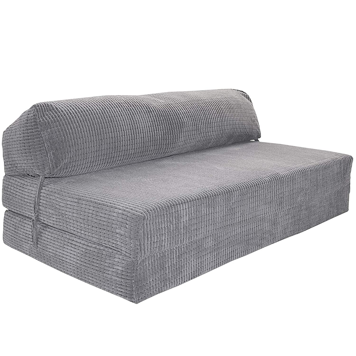 Enjoyable Gilda Futon Z Double Adult Sofa Bed Jazz Cushion Deluxe Da Vinci Cord Fabric Fold Out Mattress Fabric Bounce Back Fibre Blocks Premium Block Inzonedesignstudio Interior Chair Design Inzonedesignstudiocom