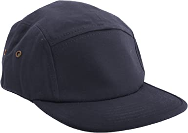 RW2607 Beechfield Unisex Mens Womens Cotton Suede Peak 5 Panel Baseball Cap