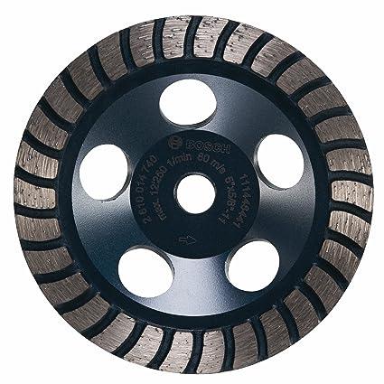 Bosch dc530h 12,7 cm diámetro Turbo fila diamante Copa Rueda con 5/8