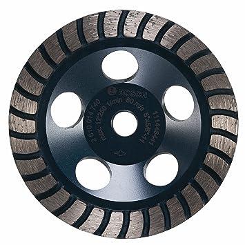 Bosch dc530h 12,7 cm diámetro Turbo fila diamante Copa Rueda con 5/8 - 11 Hub: Amazon.es: Bricolaje y herramientas