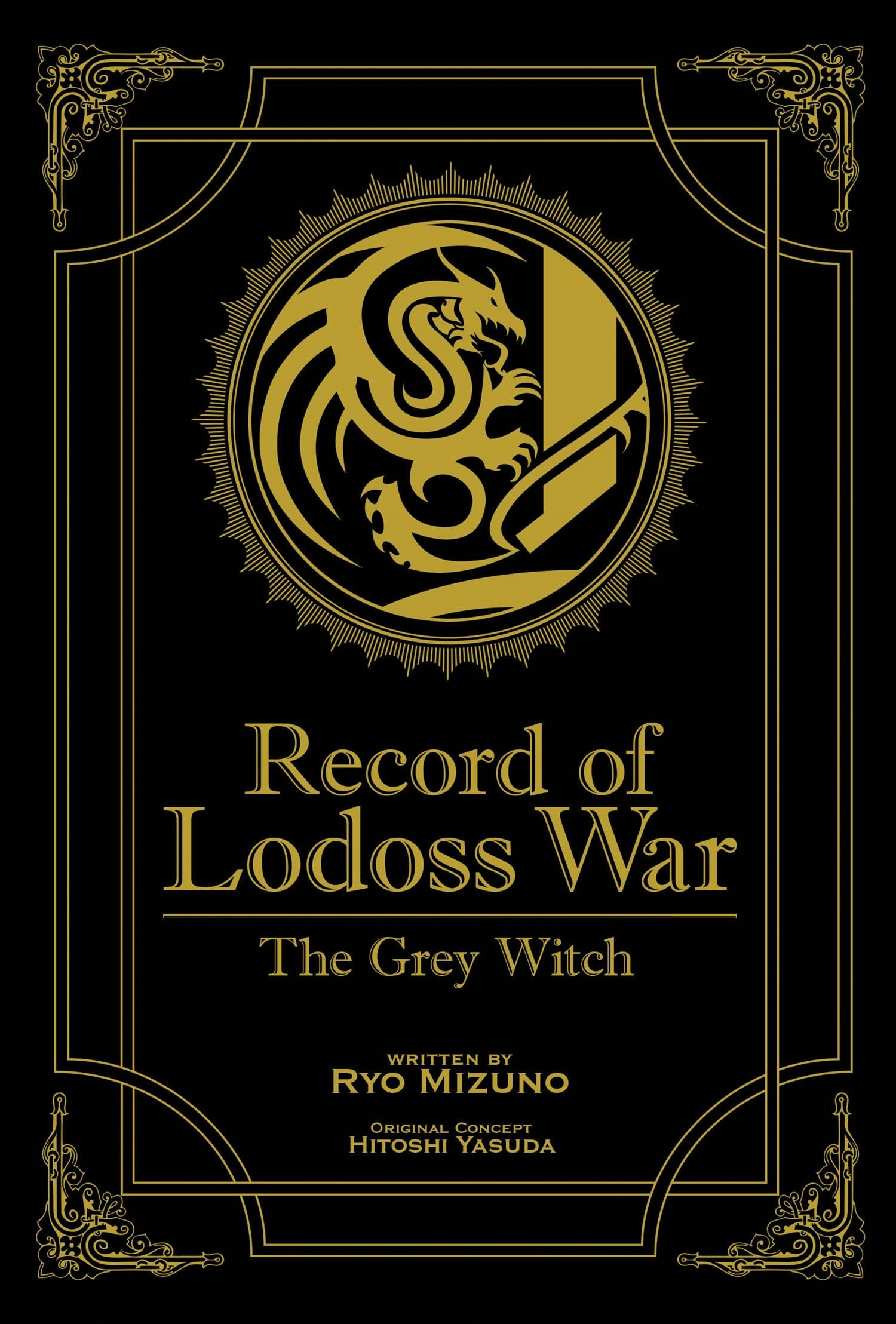 Record of Lodoss War: The Grey Witch (Gold Edition): Mizuno, Ryo, Izubuchi,  Yutaka: 9781626925700: Books - Amazon.ca