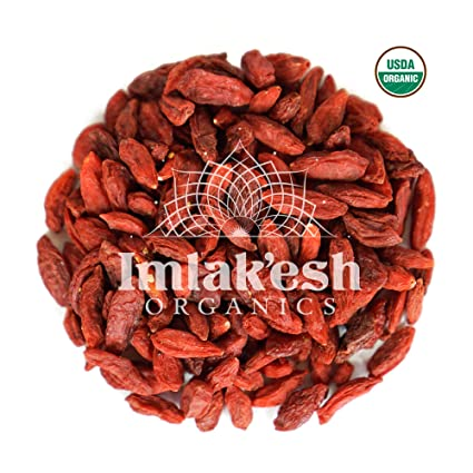 Imlak Esh Organics Goji Berries 22 Pound Bulk Box Amazon Com