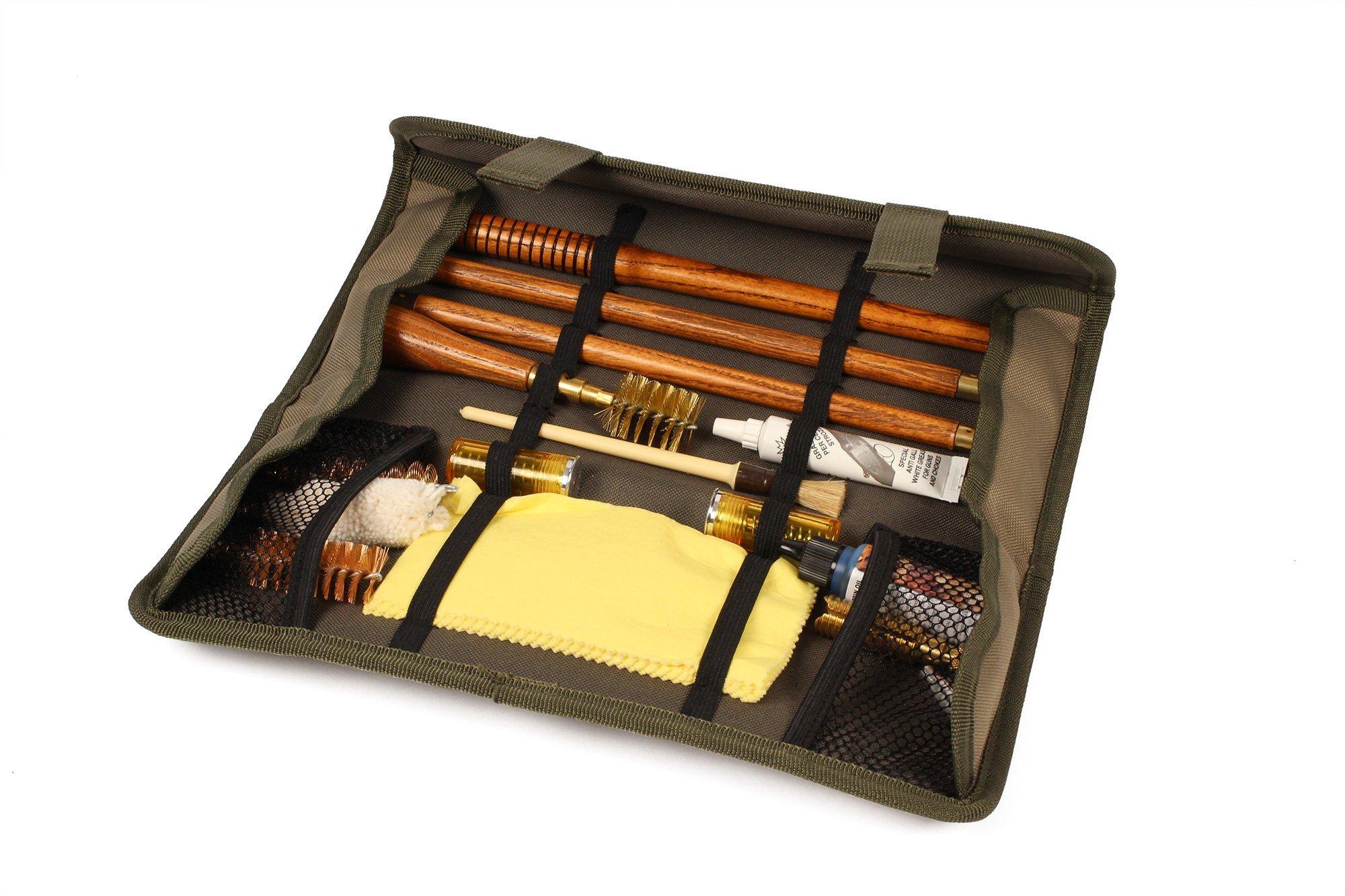 STIL CRIN UPLAND Wood Shotgun Cleaning Kit (20 ga) - STILCRIN-TF/H20 - Made in Italy