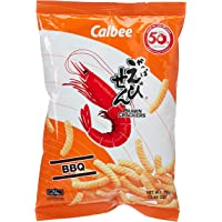 Calbee Prawn Crackers Barbecue, 70 g, Pack of 1 CLB6010079