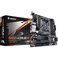 GIGABYTE B450 AORUS M AMD Ryzen AM4/M.2 Thermal Guard/HDMI/DVI/USB 3.1 Gen 2/DDR4/Micro ATX/Motherboard