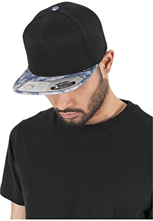 Flexfit 110 Fitted Snapback Cap - ACID EFFECT navy  Amazon.co.uk ... 1150e7ab12a