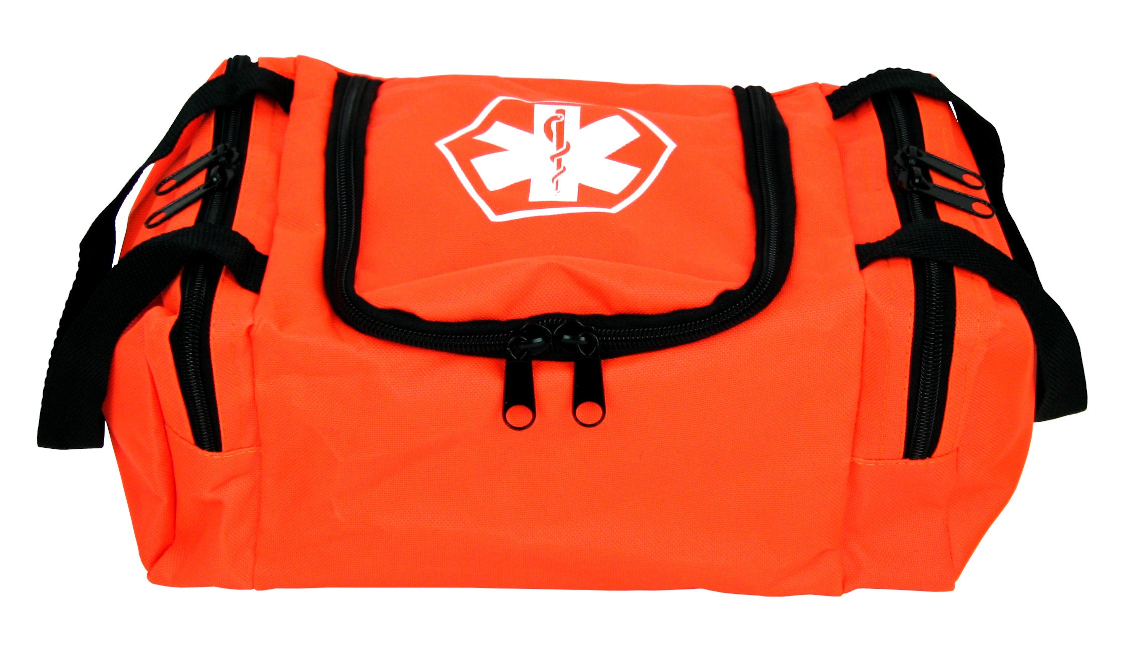 Dixie EMS Dixigear Empty First Responder II Bag, Orange