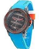 Freegun - EE5058 - Montre Mixte - Quartz Analogique - Cadran Multicolore - Bracelet Plastique Bleu