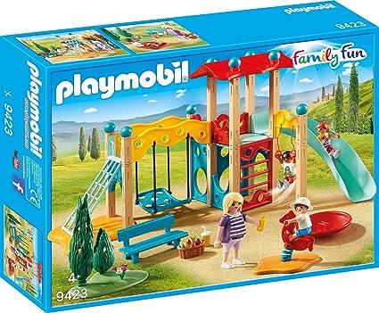 Playmobil Klettergerüst : Playmobil großer spielplatz spiel amazon spielzeug