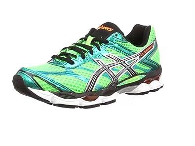 AISCS Gel-Cumulus 16, Chaussures de running femme, Vert (Black/Off 9002), 40 EU 6 UK
