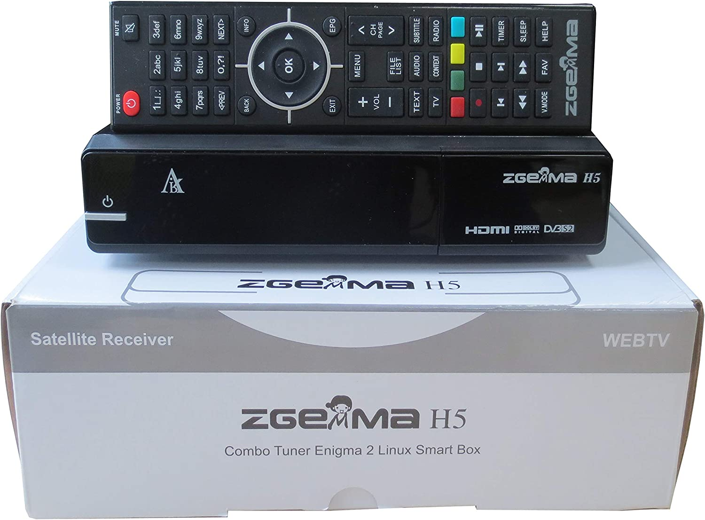 Zgemma H5 Combo Dvb S2 Dvb T2 C Hd Digital Tv Receiver Elektronik