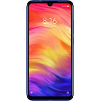 Xiaomi Redmi Note 7 Dual SIM - 128GB, 4GB RAM, 4G LTE, Blue – International Version