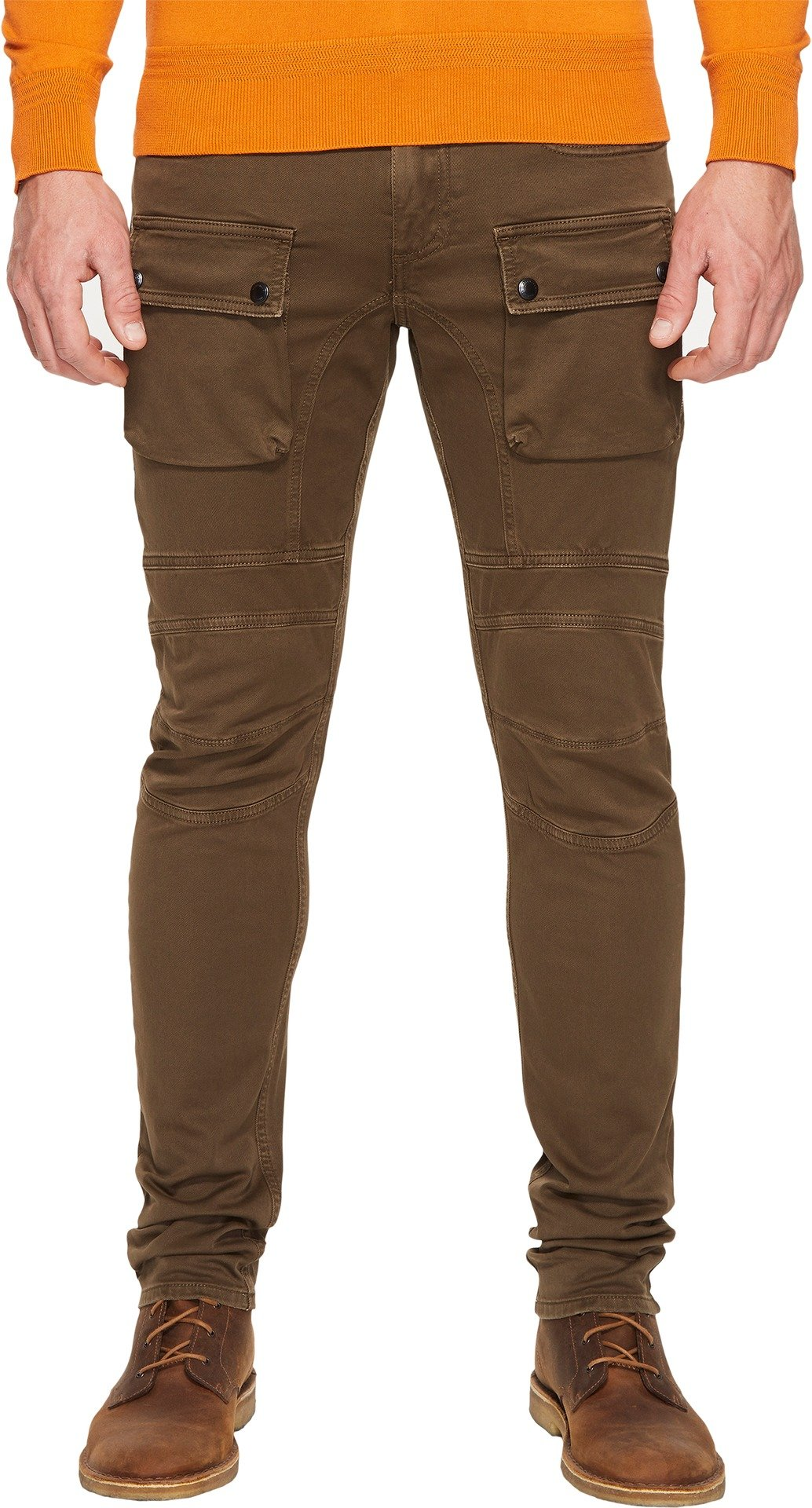 BELSTAFF Men's Felmore Moto Stretch Cotton Chino Pants Sable Pants