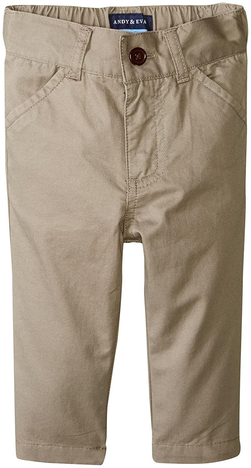 Andy /& Evan Baby Boys Twill Pant-Infant
