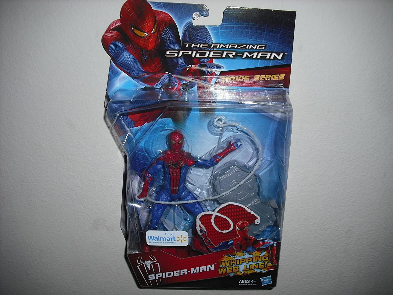 Amazon.com: The Amazing Spiderman Movie Series 6 Inch Whipping Web ...