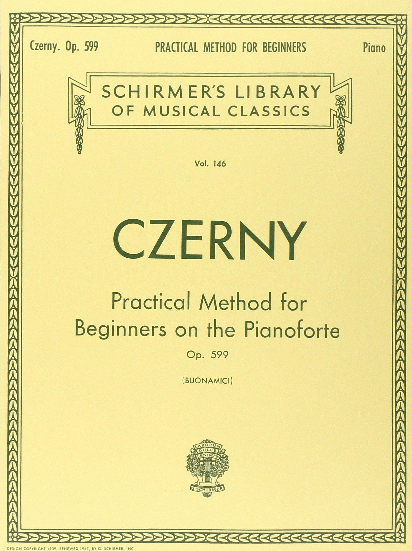 Practical Method For Beginners On The Pianoforte Op.599: Noten, Lehrmaterial für Klavier