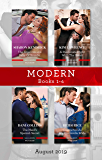 The Argentinian's Baby of Scandal/His Forbidden Pregnant Princess/The Maid's Spanish Secret/Contracted as His Cinderella Bride (The Legendary Argentinian Billionaires Book 2)