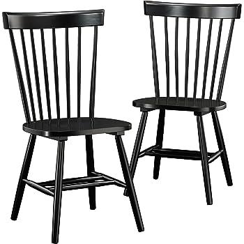 windsor chairs black