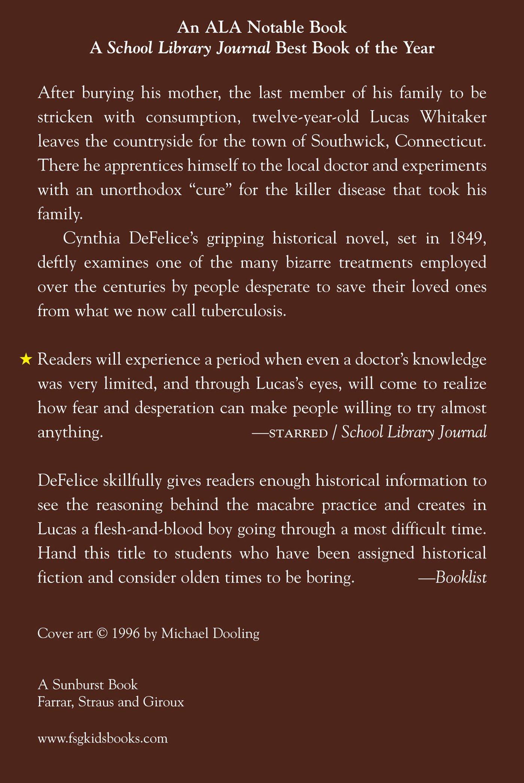 the apprenticeship of lucas whitaker cynthia defelice the apprenticeship of lucas whitaker cynthia defelice 9780374400149 amazon com books