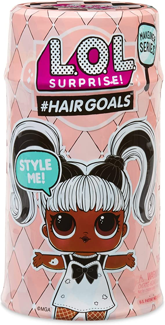 LOL Surprise SPLATTERS  Hairgoals Series Sealed Accesories No Can