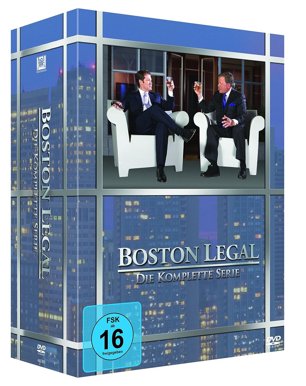 Boston Legal - Die komplette Serie [Alemania] [DVD]: Amazon ...