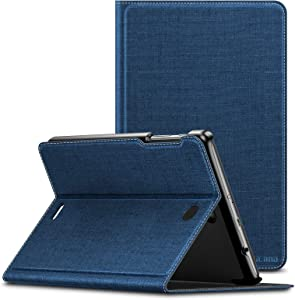 Infiland T-Mobile Alcatel Joy Tab 8/ Alcatel 3T 8 Tablet Case, Multi-Angle Stand Cover Fit T-Mobile Alcatel Joy Tab 8-inch 2019 Release/Alcatel 3T 8-inch 2018 Released Tablet, Navy