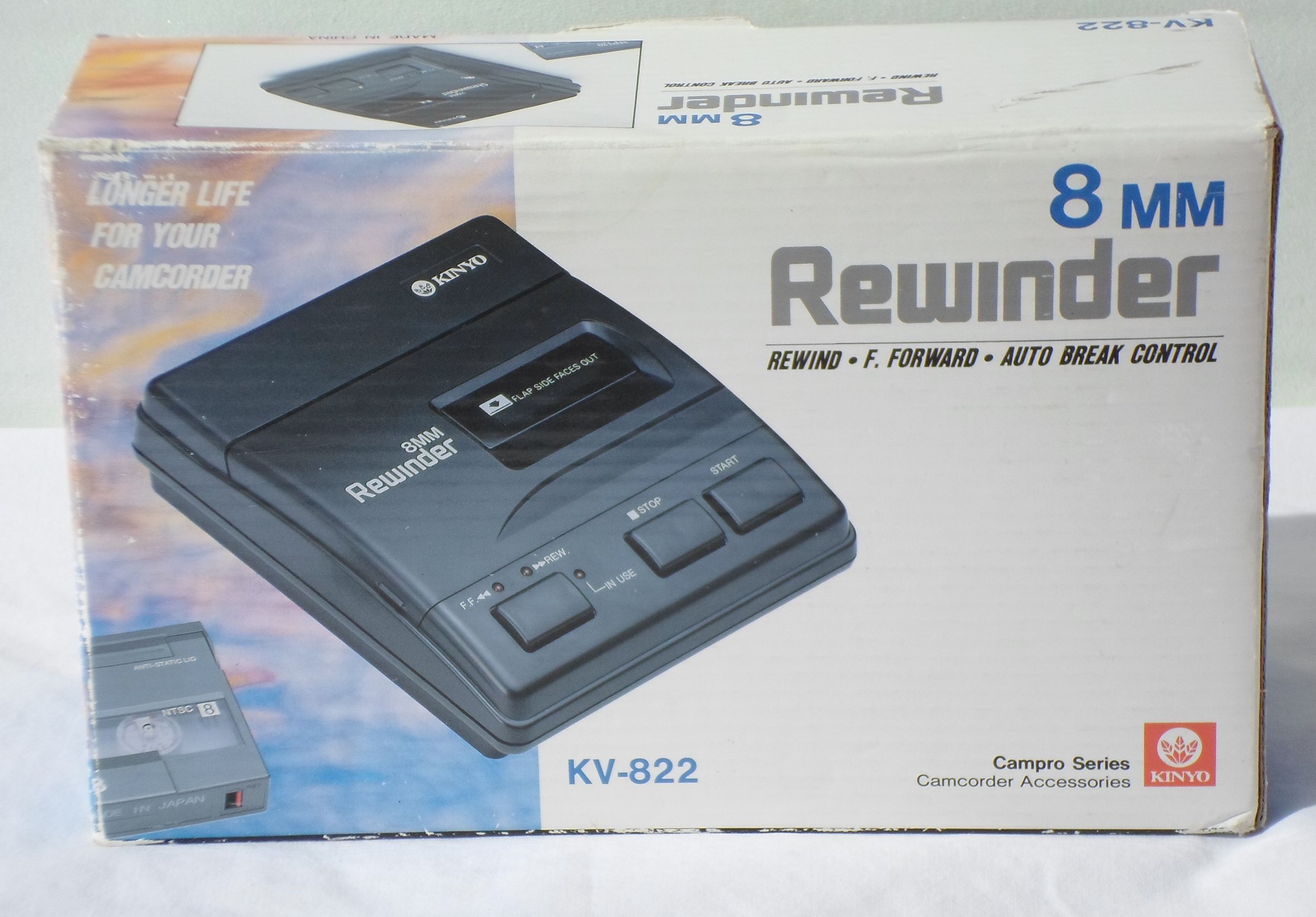 KINYO KV-822 2-Way 8mm Rewinder