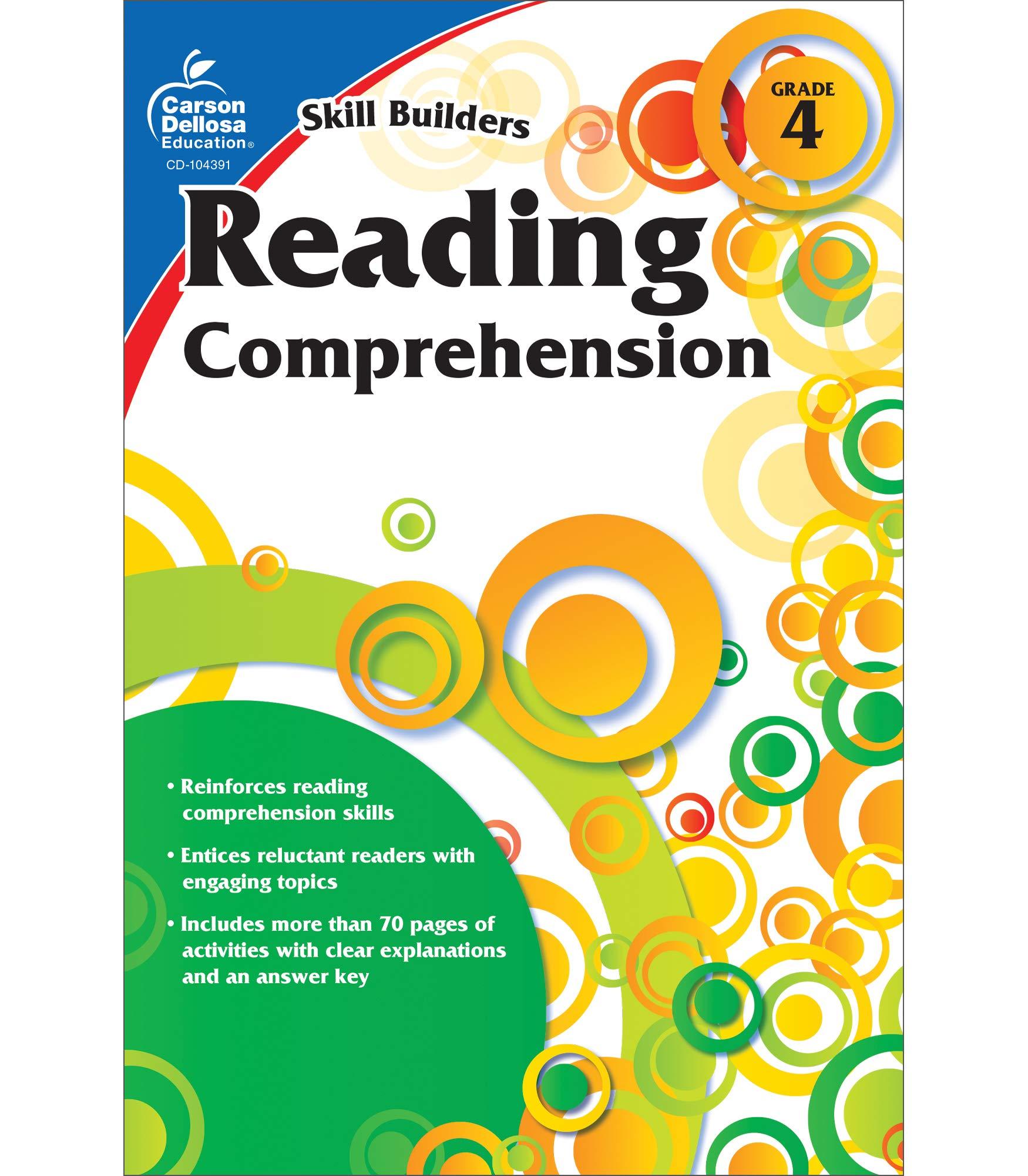 - Reading Comprehension, Grade 4 (Skill Builders): Carson-Dellosa