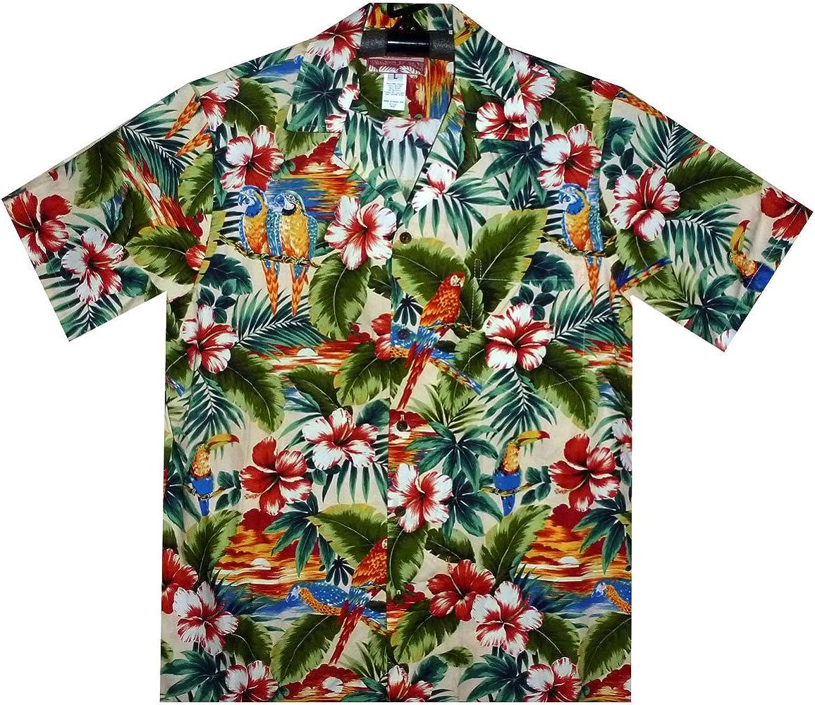 Hawaii Camisa Original fabricado en Hawaii S de 4 x l Beige beige: Amazon.es: Ropa y accesorios