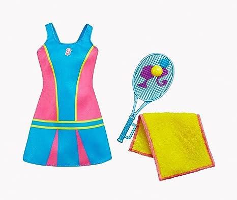 Amazon.es: Mattel Barbie Traje Profesional. Jugador de Tenis ...