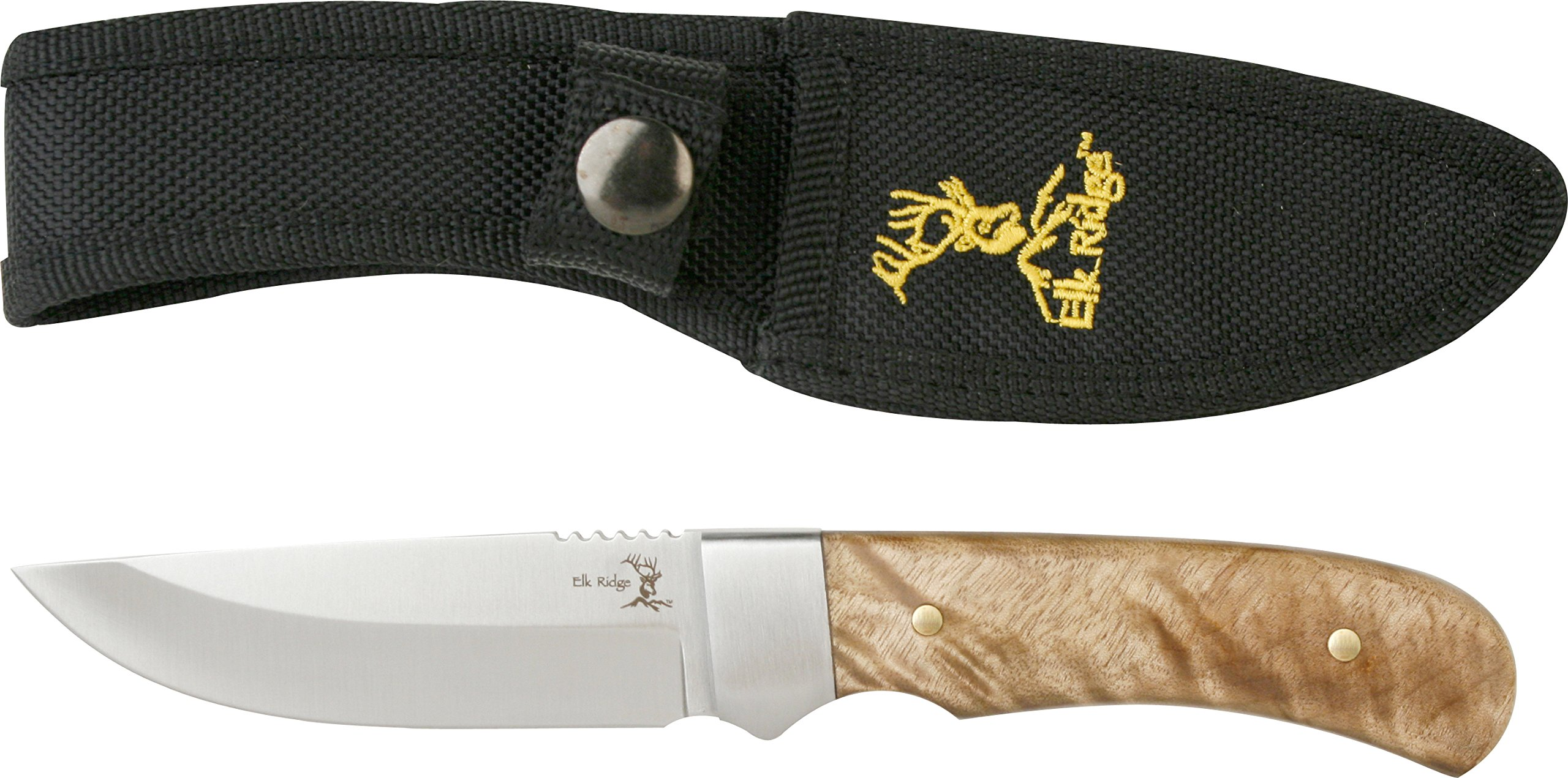 Elk Ridge ER-107 Outdoor Fixed Blade 8-Inch Overall by Elk Ridge