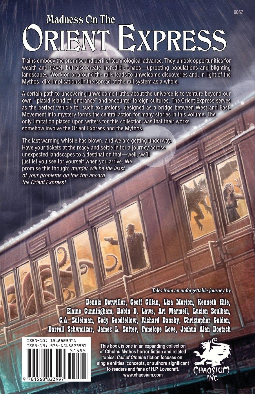 An Unforgettable Journey (chaosium Fiction): Dennis Detwiller, Geoff  Gillan, Lisa Morton, Kenneth Hite, Elaine Cunningham, Robin D Laws, Ari  Marmell,