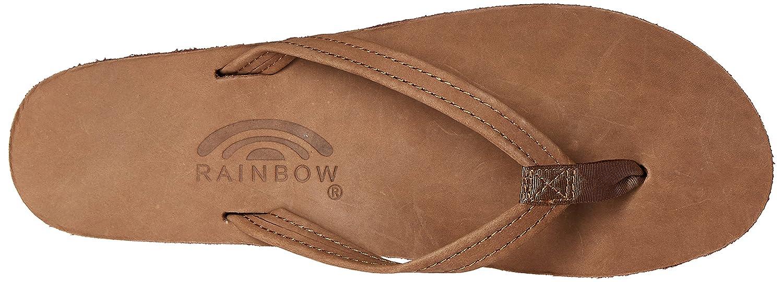 Rainbow Woherren Premier Leder Narrow Strap Strap Strap Flip Flops b8888b
