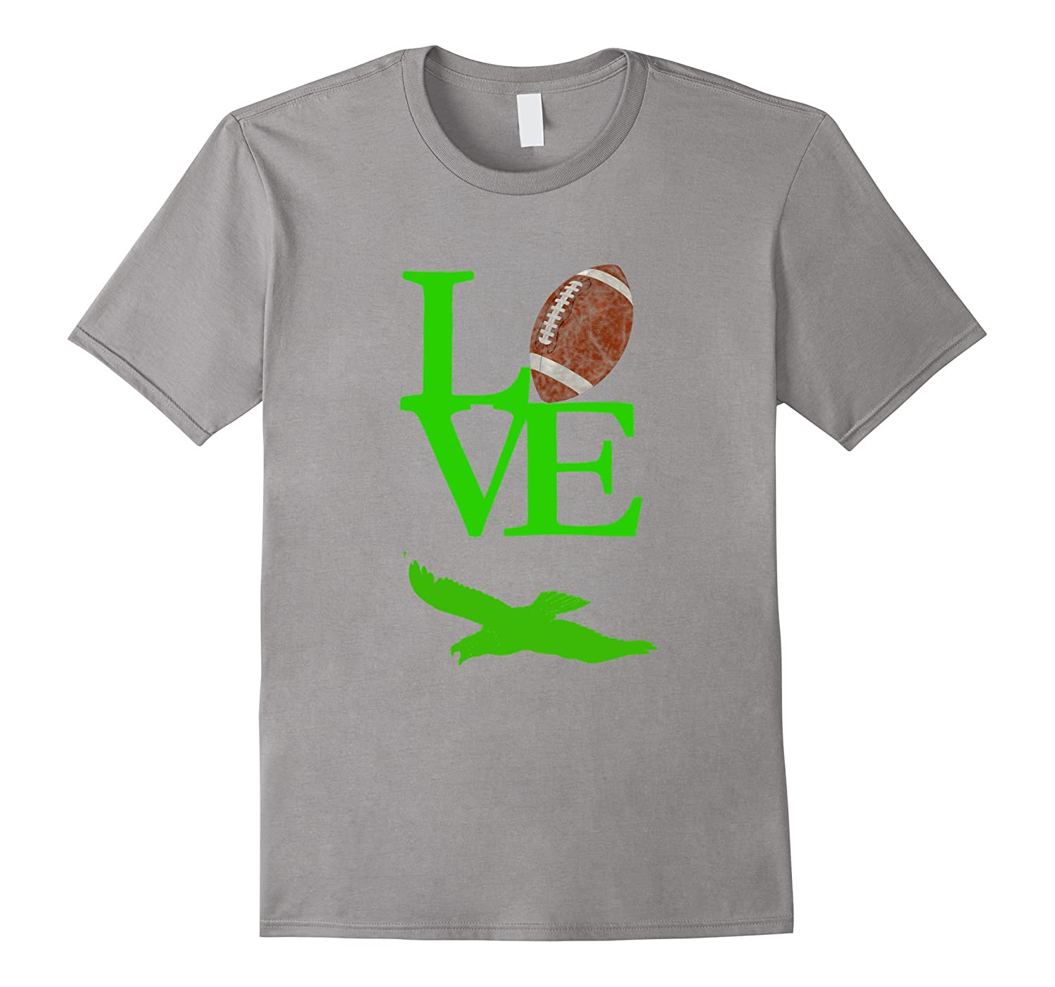 Love Football Flying Bird T Shirt-ah my shirt one gift