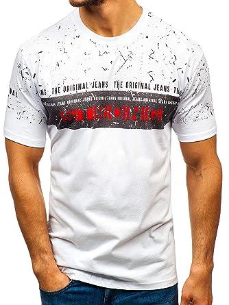 on sale new list purchase cheap BOLF T-Shirt - Stampa - Scollo Rotondo - Stile Quotidiano ...