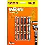 Gillette Fusion5 Lamette di Ricambio per Rasoio, Confezione Speciale da 12Lamette