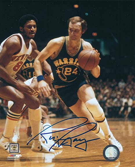 cefcf70163d2 Amazon.com  Autographed Rick Barry 8x10 Golden State Warriors Photo  Sports  Collectibles