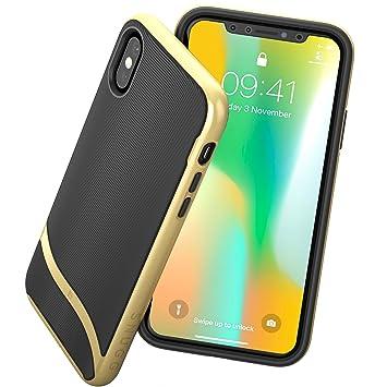 premium selection 5903c d1efb Snugg iPhone XS / iPhone X Case - Slim Cover: Amazon.co.uk: Electronics