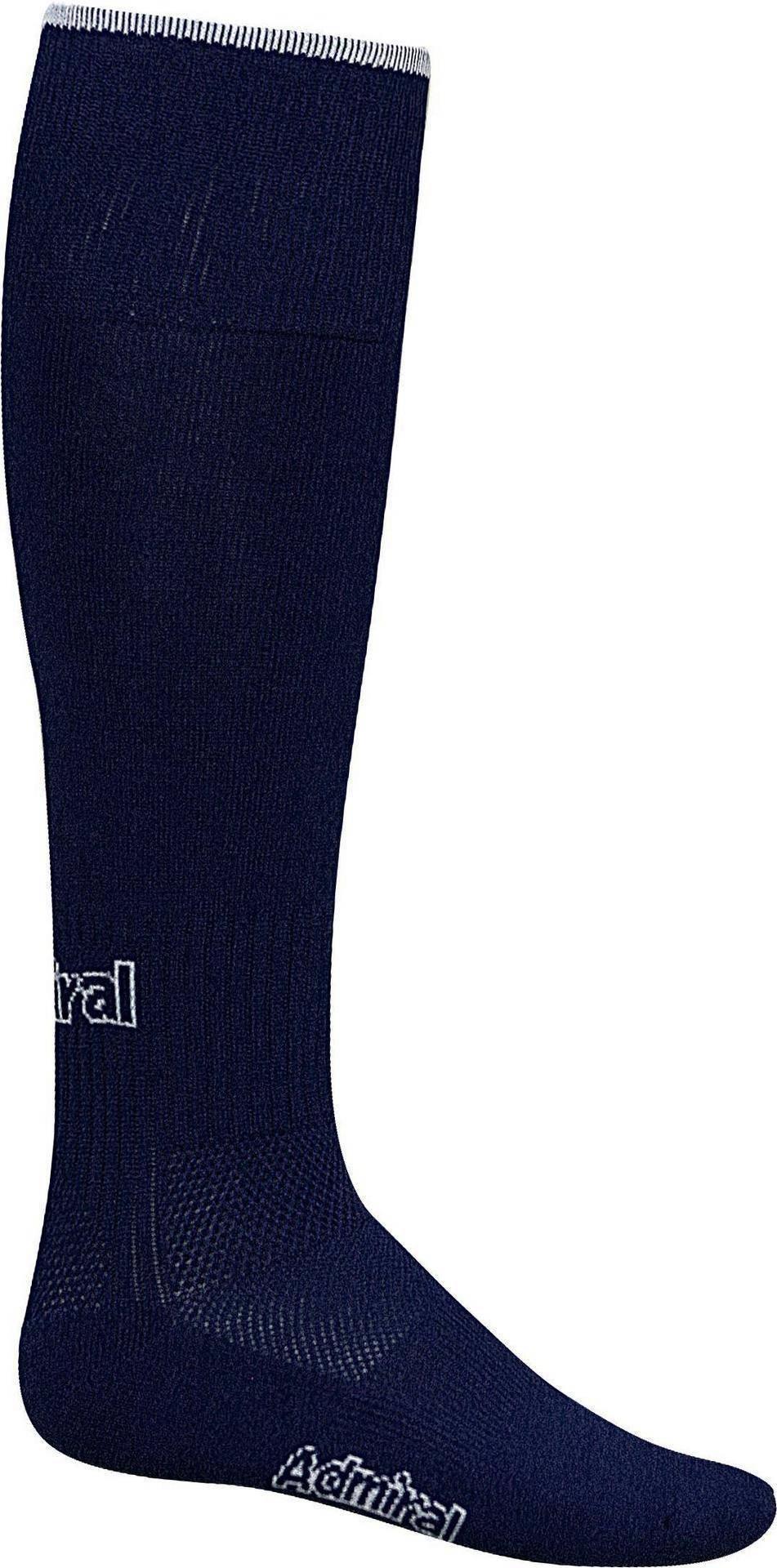 Admiral Professional Soccer Socks, Navy/White, Youth by Admiral