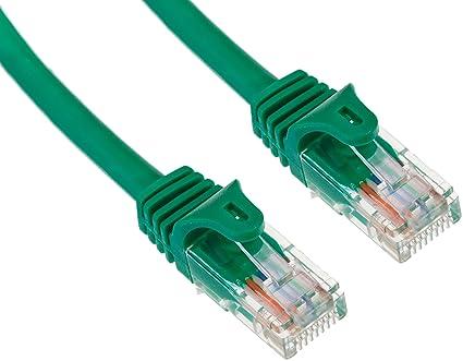 amazon com startech com cat5e ethernet cable 5 ft green patch Category 5E Cable image unavailable