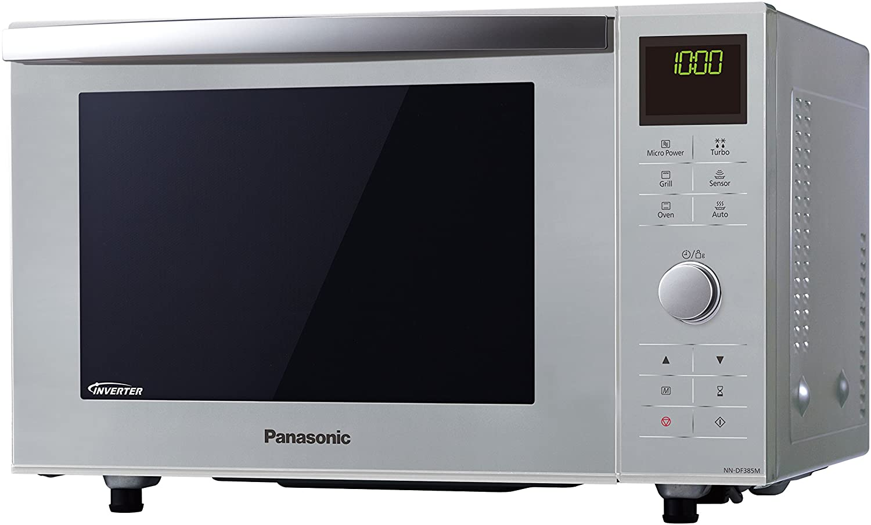 Panasonic NN-DF385 - Microondas Horno con Grill Combinado (1000 W ...
