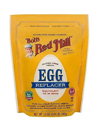 Bobs Red Mill Replacer de huevo vegano sin gluten, 12 onzas ...
