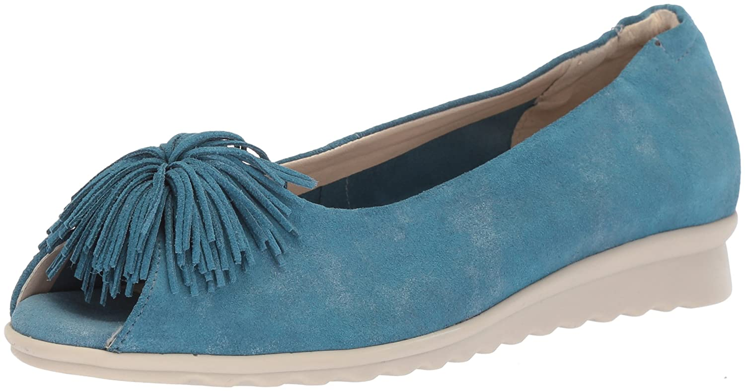 The FLEXX Women's Boco Loco Ballet Flat B075JXM4YW 9.5 B(M) US|Denim Aurora